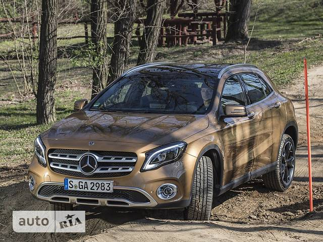 Mercedes-Benz GLA-Class GLA 220 AT (184 л.с.) 4Matic