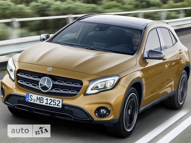 Mercedes-Benz GLA-Class GLA 220d AT (177 л.с.) 4Matic