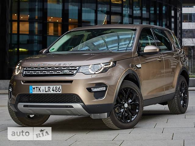 Land Rover Discovery Sport 2.0TD4 АT (180 л.с.) AWD HSE