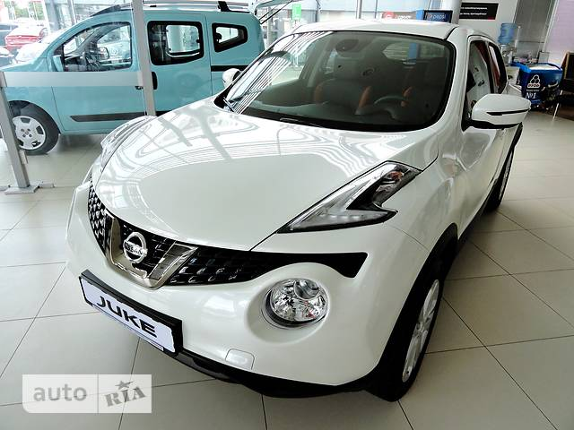 Nissan Juke FL 1.6 CVT (117 л.с.) N-Connecta