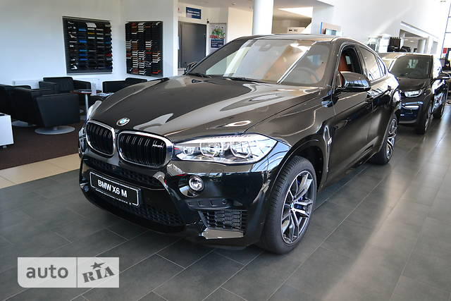 BMW X6 M F86 4.4 AT (575 л.с.) xDrive