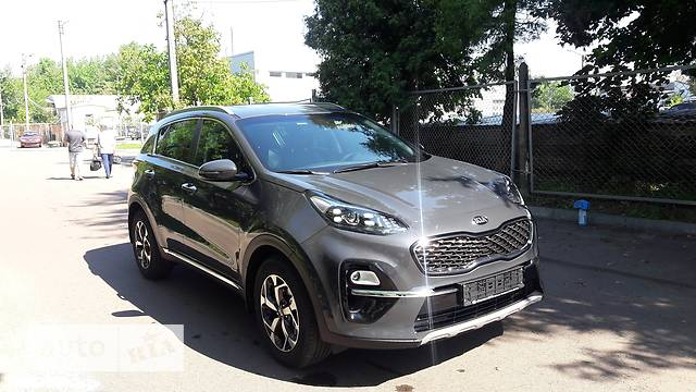 Kia Sportage 2.0 CRDi AT (185 л.с.) 4WD Business