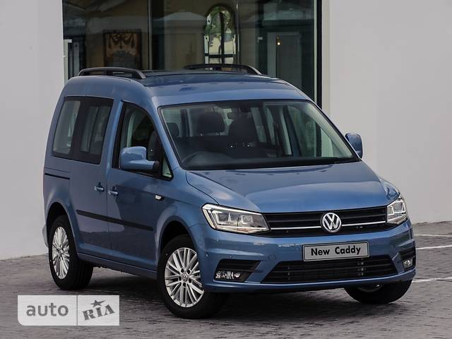 Volkswagen Caddy пасс. New 2.0 TDI AT (103 kw) Comfortline