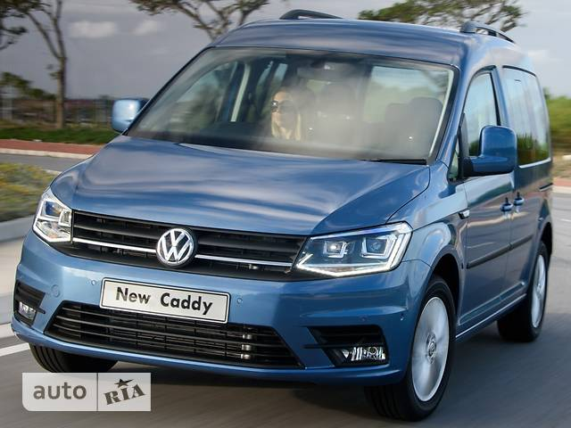 Volkswagen Caddy пасс. New 1.6 MT (81 kw) Conceptline