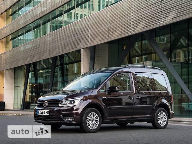 Volkswagen Caddy пасс. New 2.0 TDI AT (103 kw) Tredline Fun