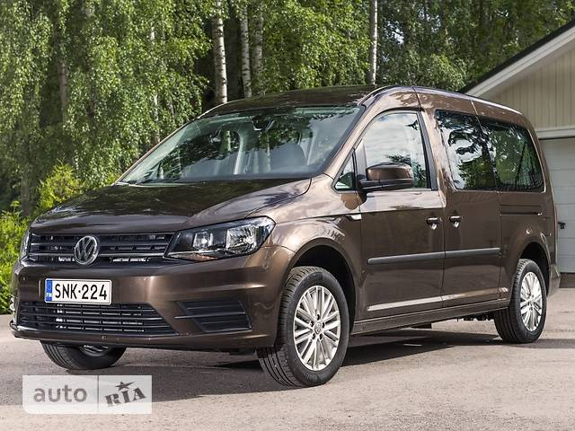 Volkswagen Caddy пасс. New 2.0 TDI MT (81 kw) Maxi 4Motion Basis