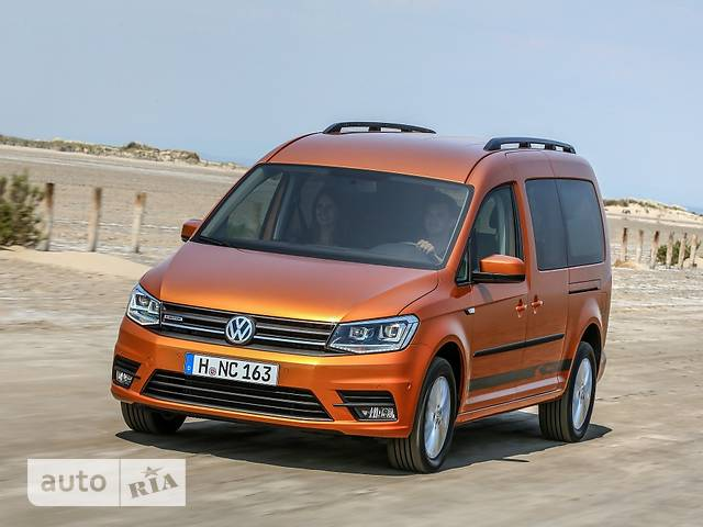 Volkswagen Caddy пасс. New 2.0 TDI АT (103 kw) Maxi 4Motion Comfortline