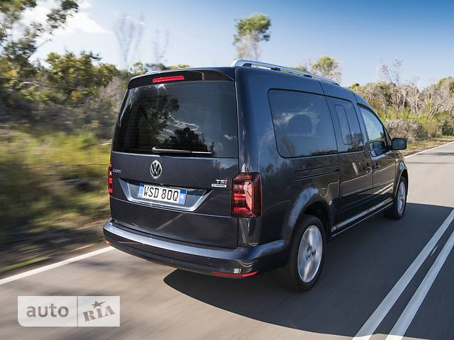 Volkswagen Caddy пасс. New 2.0 TDI АT (103 kw) Maxi  Basis