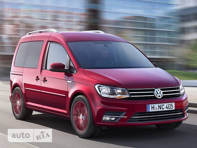 Volkswagen Caddy пасс. New 2.0 TDI MT (81 kw) 4Motion Conceptline Origin