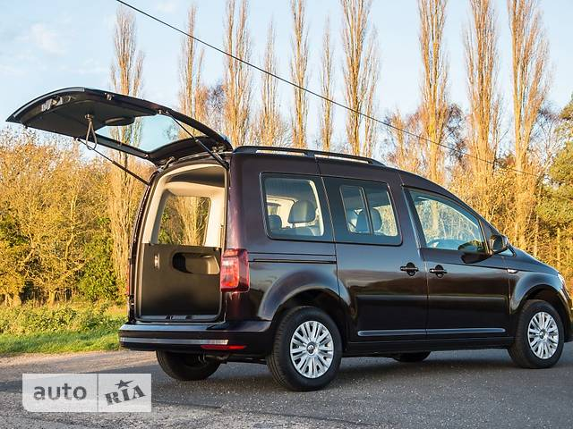 Volkswagen Caddy пасс. New 1.6 TDI АT (75 kw) Trendline