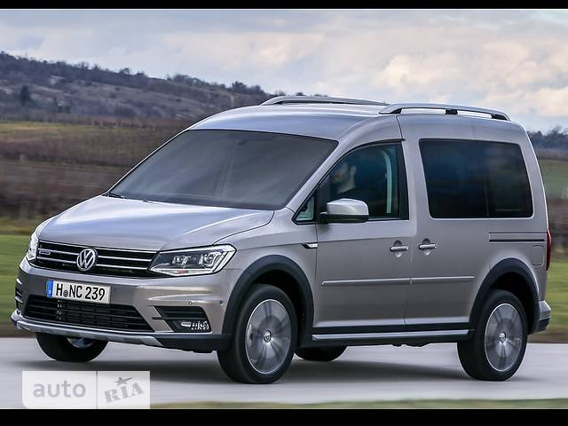 Volkswagen Caddy пасс. New 2.0 TDI MT (81 kw) 4Motion Trendline Alltrack