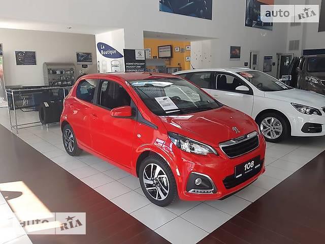 Peugeot 108 1.0 VTi AT (72 л.с.) Allure