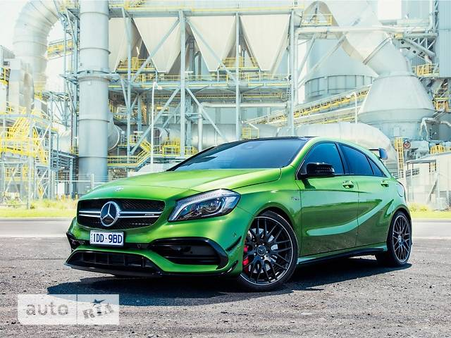 Mercedes-Benz A-Class Mercedes-AMG A 45 AT (381 л.с.) 4Matic