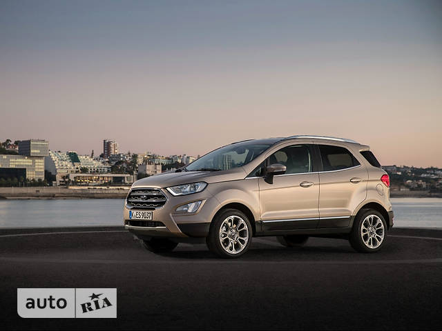 Ford EcoSport FL 1.0 EcoBoost AT (125 л.с.) Trend Plus