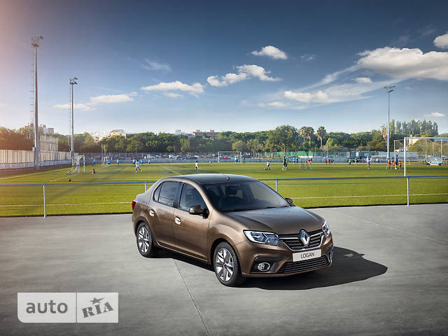 Renault Logan New 0.9 AT (90 л.с.) Life+