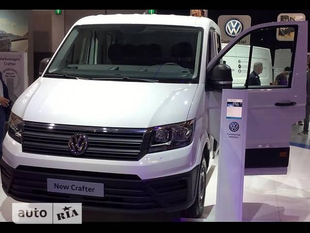 Volkswagen Crafter груз. Одинарная кабина 35 2.0 TDI MT (140 л.с.) MR 4Matic EIKA