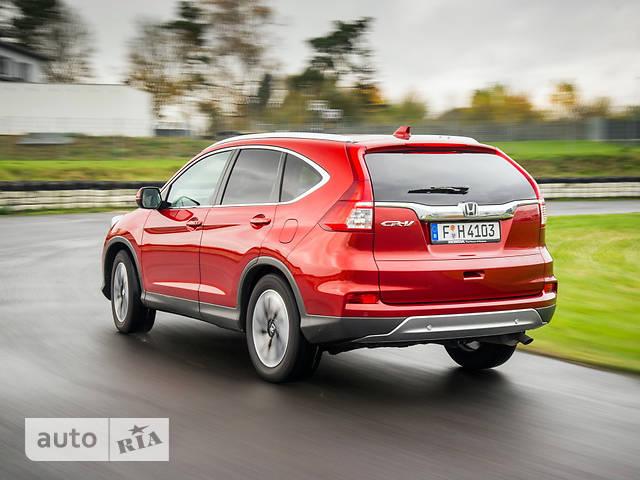 Honda CR-V 2.4 CVT (188 л.с.) Elegance
