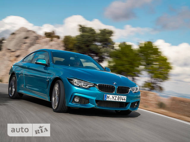 BMW 4 Series F32 440i MT (326 л.с.) base