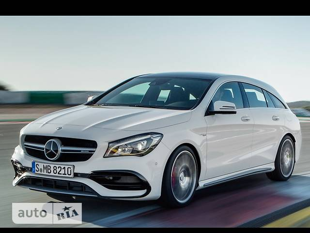 Mercedes-Benz CLA-Class Mercedes-AMG CLA 45 AT (381 л.с.) 4MATIC