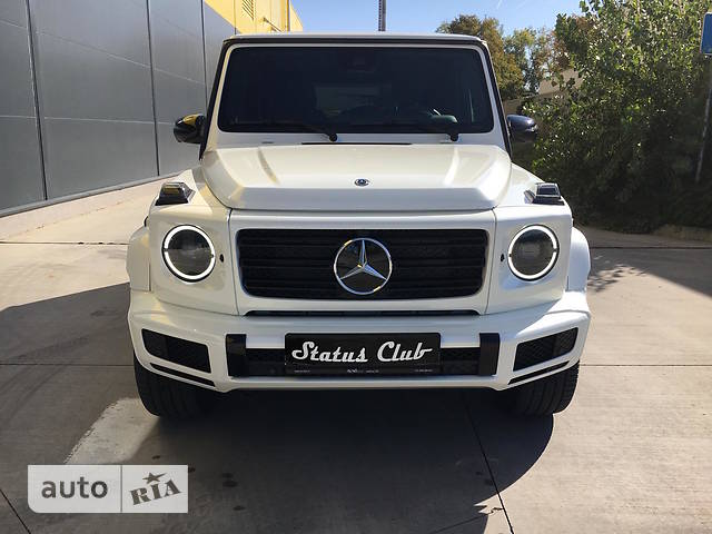 Mercedes-Benz G-Class G 500 AT (422 л.с.)