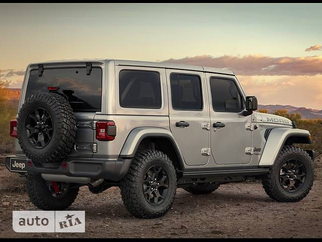 Jeep Wrangler 5D 2.0i AT (272 л.с.) AWD Sport