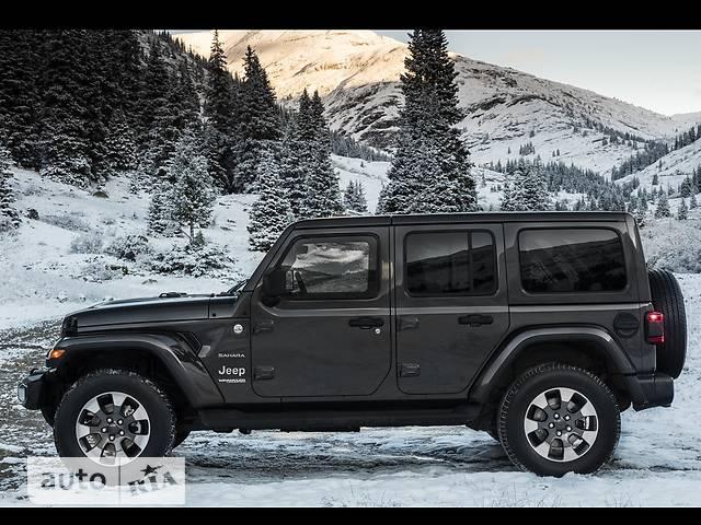 Jeep Wrangler 5D 2.0i AT (272 л.с.) AWD Sahara