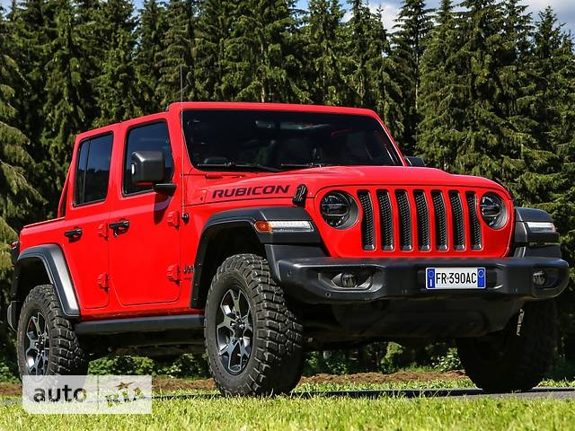 Jeep Wrangler 5D 2.0i AT (272 л.с.) AWD Rubicon