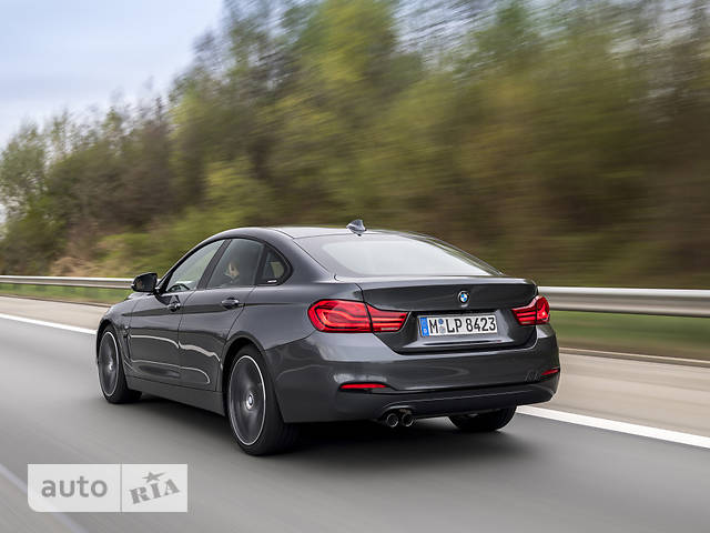 BMW 4 Series Gran Coupe F36 418d MT (150 л.с.) base