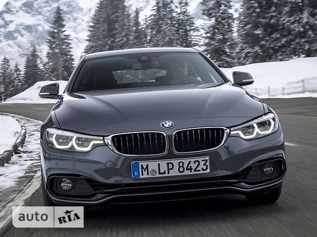 BMW 4 Series Gran Coupe F36 420i MT (184 л.с.) xDrive base