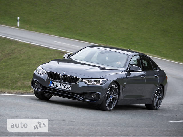 BMW 4 Series Gran Coupe F36 440i AT (326 л.с.) xDrive base