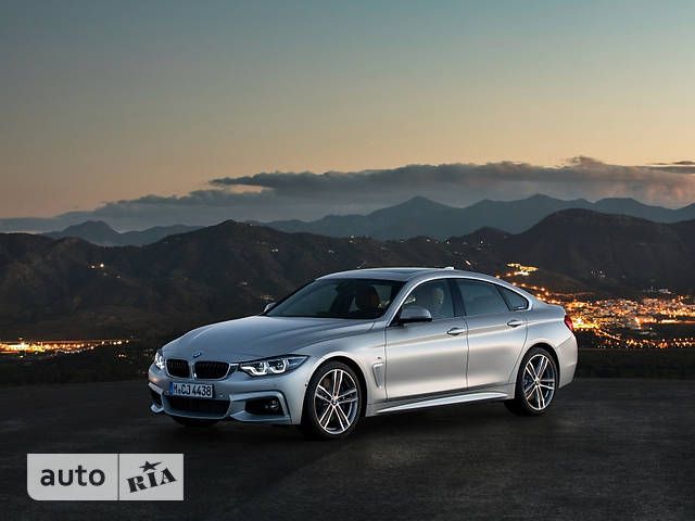 BMW 4 Series Gran Coupe F36 420i MT (184 л.с.) base