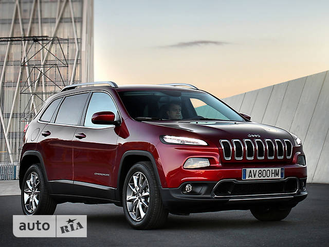 Jeep Cherokee 2.4 AT (184 л.с.) Limited