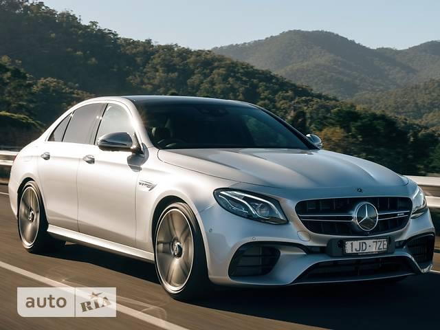 Mercedes-Benz E-Class New Mercedes-AMG E 63 (571 л.с.) 4Matic+