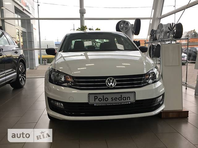 Volkswagen Polo New 1.6 MPI MT (90 л.с.) Life