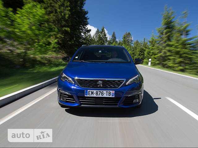 Peugeot 308 New 1.6 BlueHdi АТ (120 л.с.) Start/Stop GT-Line