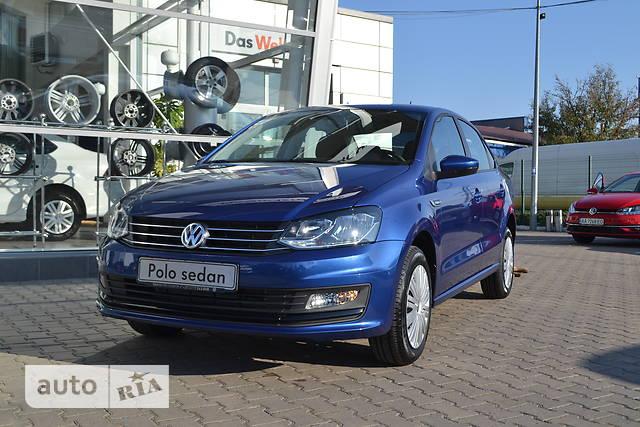 Volkswagen Polo New 1.4 TSI AT (125 л.с.) Comfortline