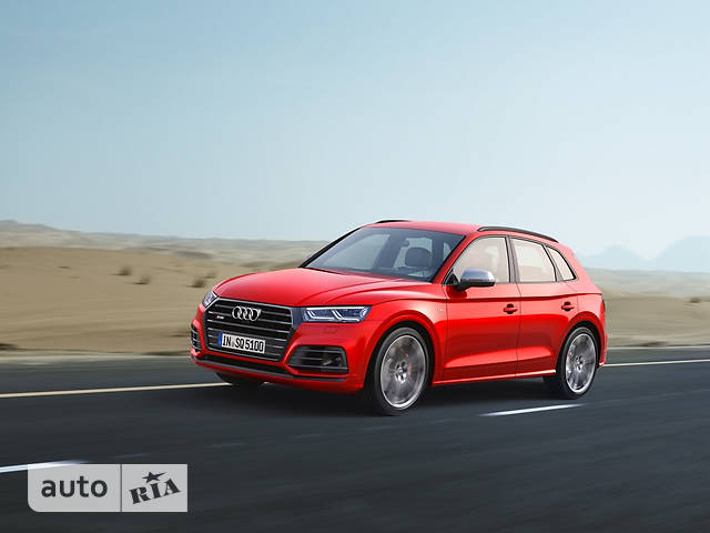 Audi SQ5 New 3.0 TFSI Tip-tronic (354 л.с.) Quattro