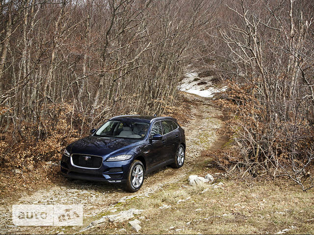 Jaguar F-Pace 2.0 AT (250 л.с.) AWD Prestige