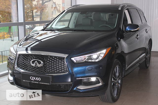 Infiniti QX60 3.5 CVT (262 л.с.) Elite + Roof Rail