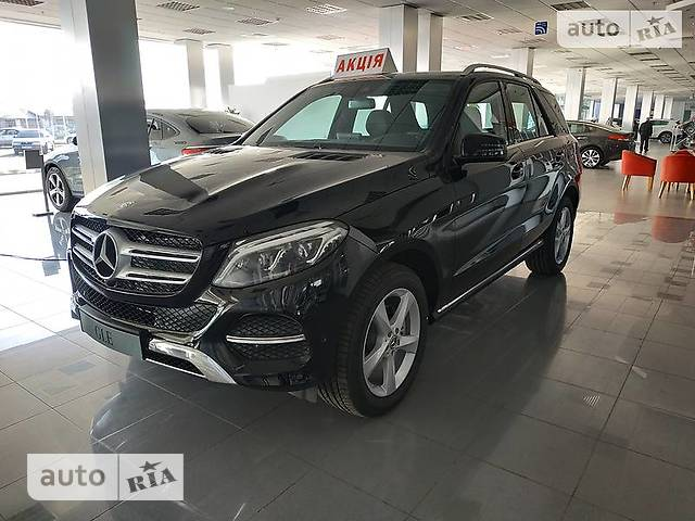 Mercedes-Benz GLE-Class GLE SUV 250d AT (204 л.с.) 4Matic