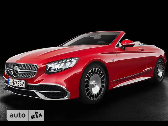 Mercedes-Benz Maybach S 650 AT (630 л.с.)