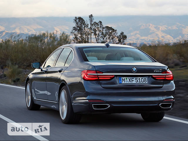 BMW 7 Series G11 740d AT (320 л.с.) xDrive base