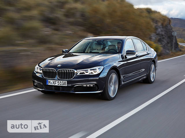 BMW 7 Series G11 725d AT (231 л.с.) base