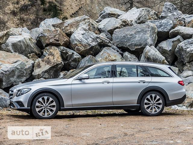 Mercedes-Benz E-Class All-Terrain E 220d G-tronic (194 л.с.) 4Matic
