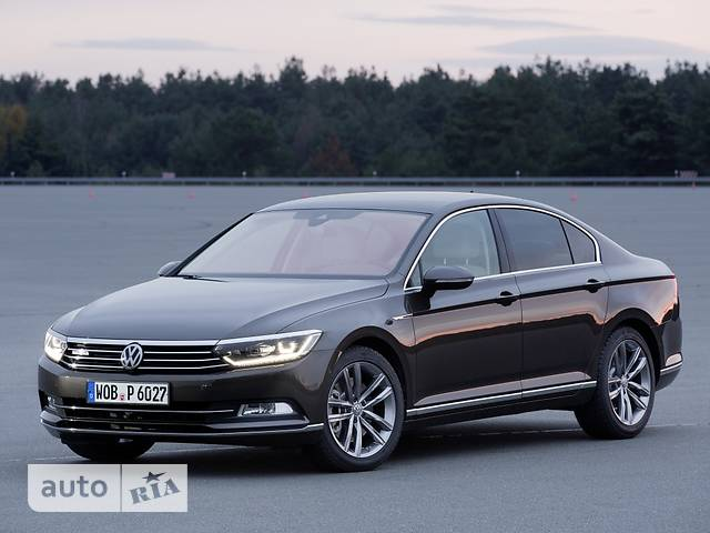 Volkswagen Passat B8 2.0 TDI AT (150 л.с.) Business Life