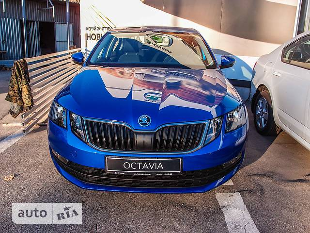 Skoda Octavia A7 New 1.4 TSI DSG (150 л.с.) Ambition