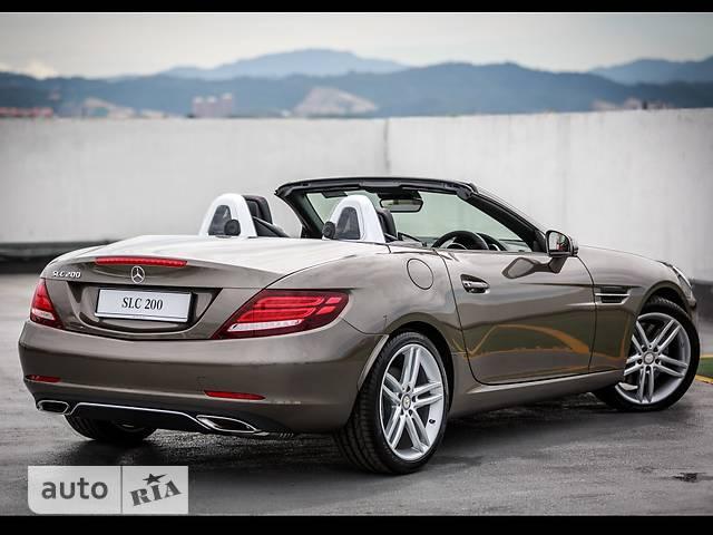 Mercedes-Benz SLC-Class SLC 200 MT (184 л.с.)
