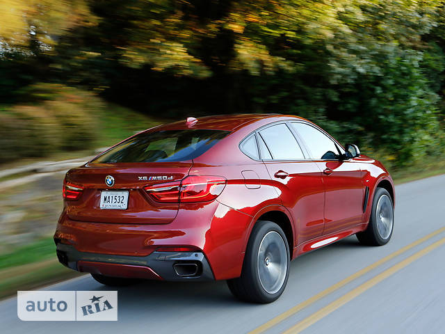 BMW X6 F16 M50D AT (381 л.с.) xDrive base