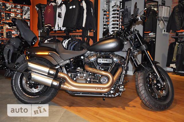 Harley-Davidson FXFBS Softail Fat Bob 114 Standart+ABS