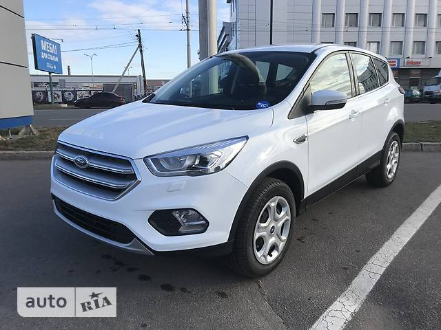 Ford Kuga New 1.5D MT (120 л.с.) Trend+
